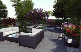 小花园设计